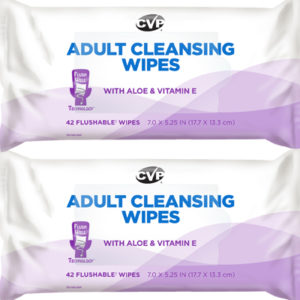 CVP Cleaner - Adult Cleansing Wipes
